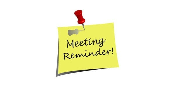 Clerc Center Meeting Reminder