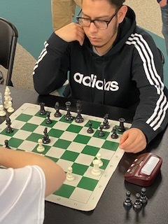 Alonso Fores-Lopez playing a game